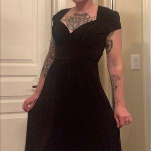 Bisou bisou black pin up body con dress